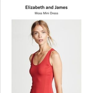 Elizabeth and James Moss red dress NWT 6